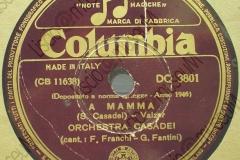 A Mamma - (Secondo Casadei) 30-10-1946
