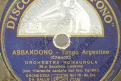 Abbandono - (Secondo Casadei) 1936