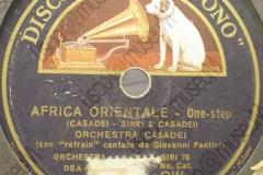 Africa Orientale - (S. Casadei- Sirri & Casadei) 1935