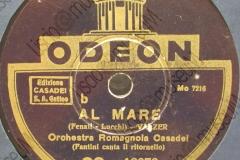 Al mare - (Fenati - Lucchi) - Valzer - Fantini canta il ritornello - 1936-1937
