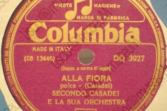 Alla Fiora - (Secondo Casadei) - Polca - 20-05-1953