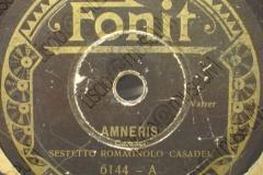 Amneris - (Secondo Casadei) - Valzer - Sestetto Romagnolo Casadei - 1932