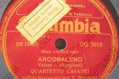 Arcobaleno - (Borghesi) - Valzer - Quartetto Casadei fisa solista V. Borghesi - 20-05-1953