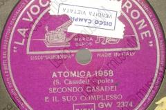 Atomica 1958 - (Secondo Casadei) - Polca - 02-07-1958