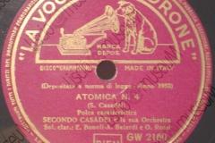 Atomica n°4 - (Secondo Casadei) 1952