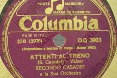 Attenti al treno - (Secondo Casadei) - Valzer - 14-11-1952