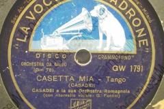 Casetta mia - (Secondo Casadei) - Tango - con ritornello vocale di G. Fantini - 1938