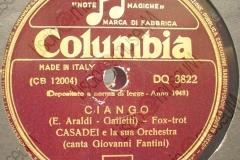 Ciango - (E.Araldi - Galletti) - Fox-trot - Orchestra Casadei canta G. Fantini - 22-06-1948
