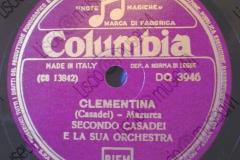 Clementina - (Secondo Casadei) - Mazurka - 05-07-1954