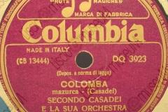Colomba - (Secondo Casadei) - Mazurka - 20-05-1953