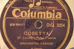 Cosetta - (Primo Lucchi) - Polca-marcia - Orchestra Casadei - 1943