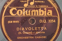 Diavoletta - (Secondo Casadei) - Mazurka - 1943