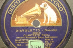 Diavoletto - (Reina) - Quartetto Reina - One step - 1934-1935