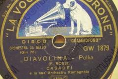 Diavolina - (F. Rossi) - Polca - Orchestra Casadei - 1943