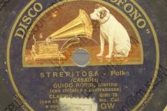 Strepitosa - (Secondo Casadei) - Polca - Guido Rossi (clarino) con chitarra e contrabasso