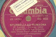 Sturnèli ad Rumagna - (Primo Lucchi) 11-07-1957