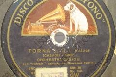 Torna Liù - (Secondo Casadei - Sirri) - Valzer - canta Giovanni Fantini -1935
