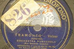 Tramonto - (Secondo Casadei) - Valzer - 1932