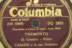 Tramonto - (Secondo Casadei) - Valzer - 21-06-1949
