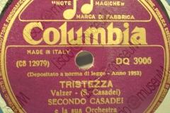 Tristezza - (Secondo Casadei) - Valzer - 14-11-1951