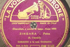 Zingara - (Secondo Casadei) - Polca - 11-10-1950