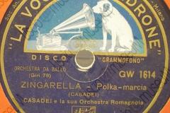 Zingarella - (Secondo Casadei) - Polca-marcia - 1936-1937