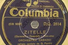 Zitelle - (Garavelli - Casadei) - One-step - refrain cantato da G. Fantini - 1940-1941