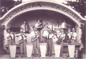Orchestra Casadei a Fratta Terme 1947