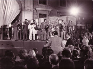 Asiago, settembre 1971 - L'Orchestra Casadei è a Festivalbar